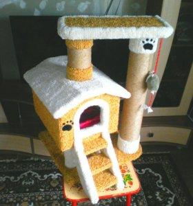 Кошачий домик в наличии и на заказ.