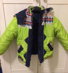 Куртка зимняя 110 рост