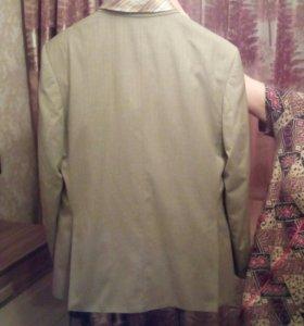 Костюм ( брюки пиджак,рубашка галстук в подарок)