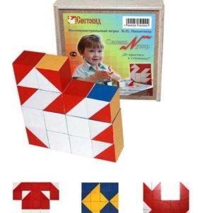 Кубики сложи узор (игры Никитиных)