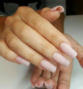 Наращивание и укрепление ногтей акрил