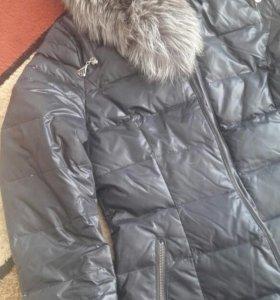 Женское пальто-пуховик