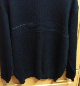 Мужской свитер и рубашка 60 р.