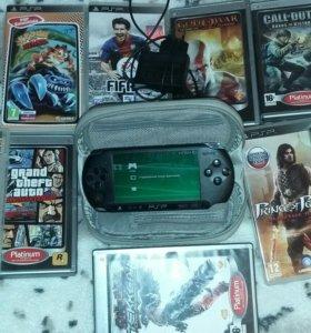 PSP+диски с играми