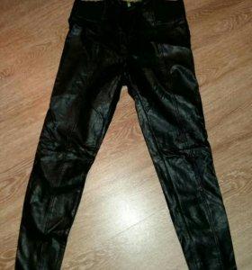 Кожаные брюки Benetoon