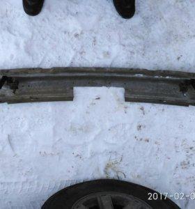 Усилитель заднего бампера БМВ е39 под фаркоп