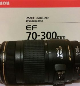 Обьектив Canon EF 70-300 mm f4-5,6mm
