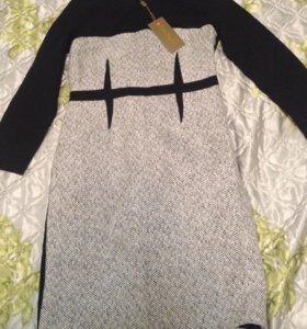 Платье тёплое новое