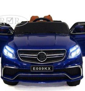Детский электромобиль Mercedes E009KX (пульт, кожа
