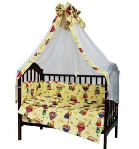 Балдахин в детскую кровать