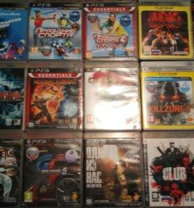 Распродажа дисков на PlayStation 3 около 50 дисков