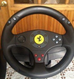 Игровой руль Ferrari