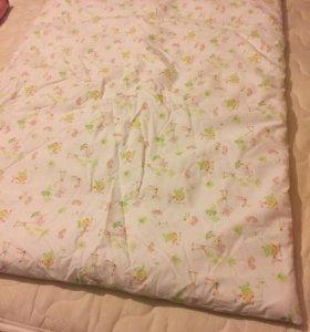 Одеяло тёплое новое piccolino