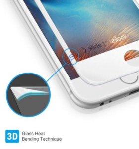 🚩Защитное стекло для iPhone 4/4S/5/5S/6/6+/7