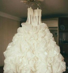 Свадебное платье как новое