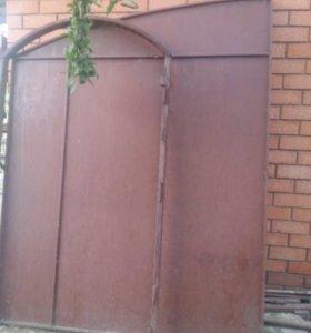 Ворота,металические