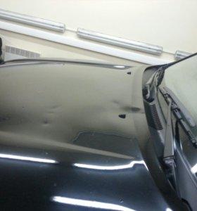Ремонт вмятин на Kia Sportage без покраски