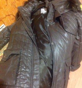Куртка осень- зима размер 44
