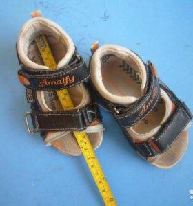 сандалии на мальчика 23 размер лето
