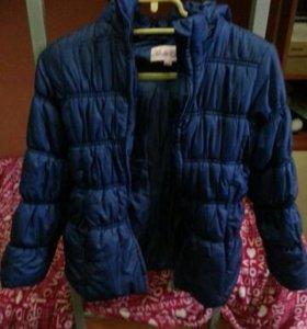 Куртка демисезонная рост 135 см
