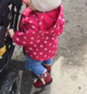 Куртка и ботинки