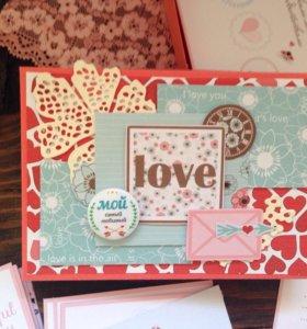 """Подарок на годовщину -коробочка """"Я люблю..."""""""