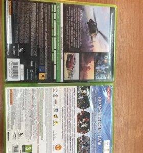 Игры на Xbox 360(PES 2012,Grand Theft Auto 5)
