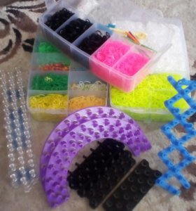 Набор резинок для плетения , станки