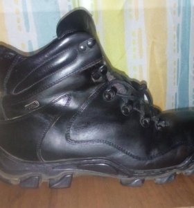 Ботинки зимние б/у нат.кожа,нат.мех