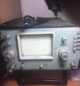 Осциллограф 1 канал 50 МГц