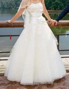 Шикарное свадебное платье 40-44