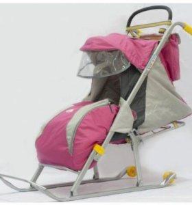 Санки-коляска Детские Ника детям 2