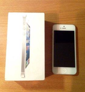 iPhone 5 белый - 64Gb