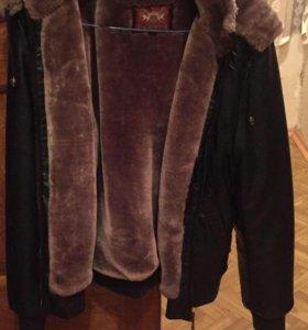 Продам новую утеплённую куртку