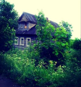 Участок с зимним домом