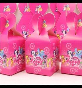 Коробочки My little pony