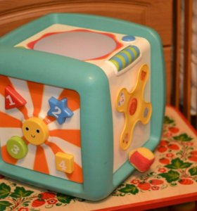 Интерактивный развивающий куб, ELC
