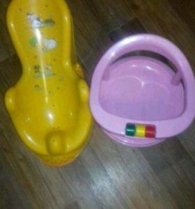 Горка и сиденье в ванну