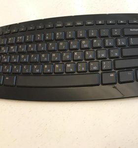 Клавиатура Microsoft Arc Keyboard Black USB 1392