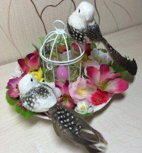 Клетка с птичками