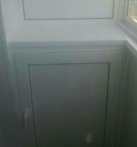 Шкафчик балконный