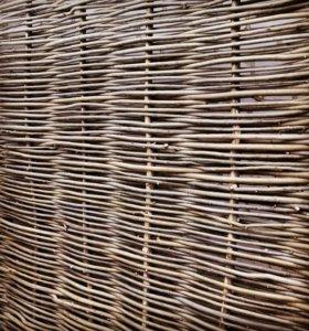 Плетень забор