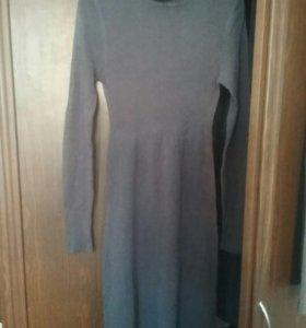 Теплое платье xs
