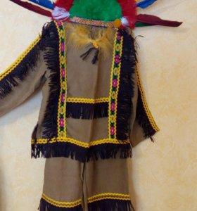 Детский новогодний костюм индейца