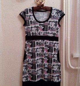 Платье новое, трикотаж