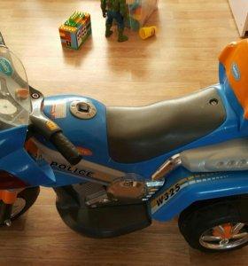 Детский мотоцикл Geoby W325