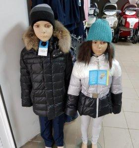 Куртки теплые