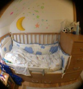 Кровать-трансформер Маруся