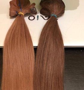 Волосы на заколках 55-60 см