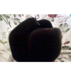 Ушанка норка,, размер 57, 58 и регулируется
